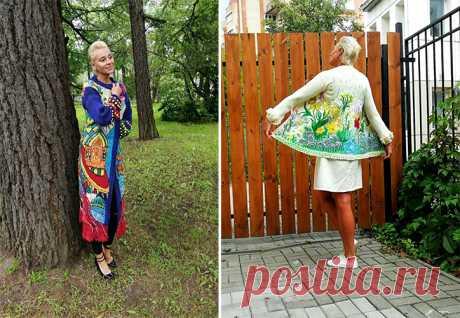 Владислава Соломаха «рисует» с помощью спиц и ниток | sm-news.ru