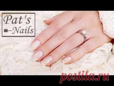 Romantic Wedding Nails Part Ⅰ| Pat's Nails