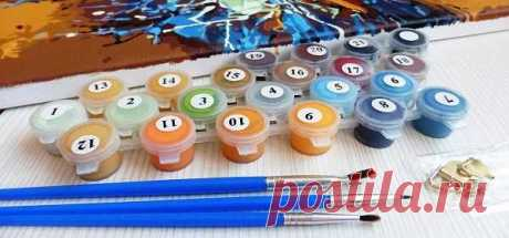 Засохли краски для рисования по номерам: что делать, чем и как разбавлять | В мире краски