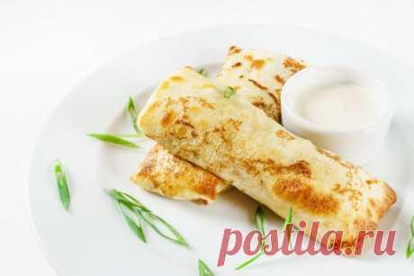 Печем блины на Масленицу, вкусные начинки для блинов   Официальный сайт кулинарных рецептов Юлии Высоцкой