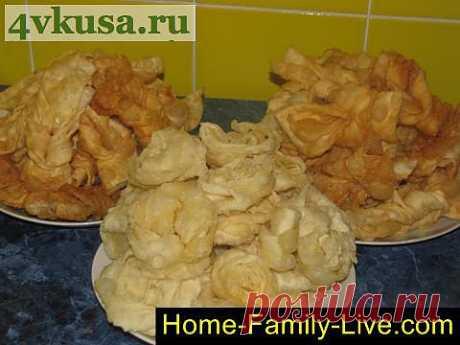Хрустящий хворост | 4vkusa.ru