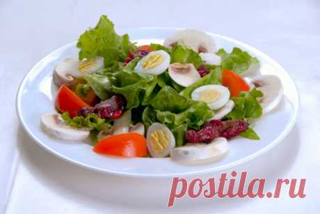 The Lyons salad | Recipes — it is simple also with taste