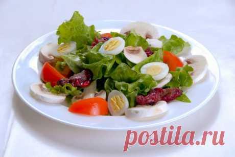 Лионский салат   Рецепты — просто и со вкусом