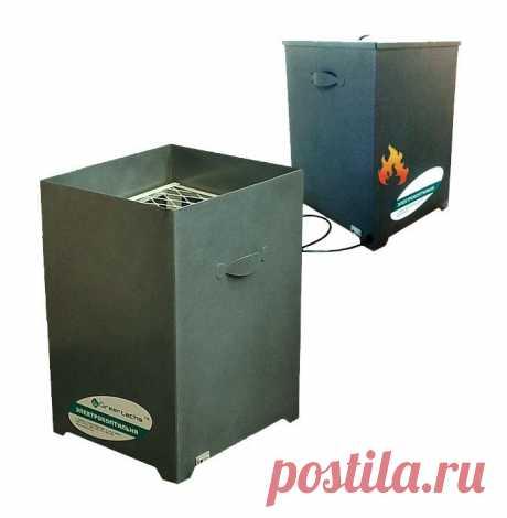 Электро коптильня горячего копчения