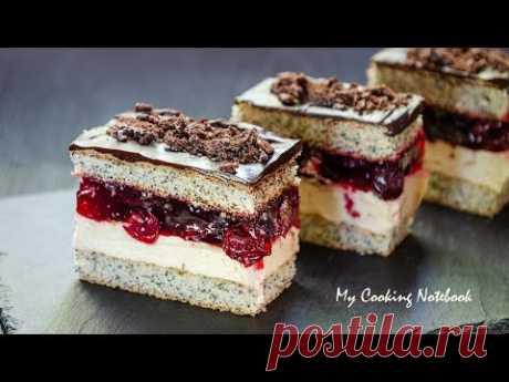 Вишневая Фантазия Торт : Cherry Fantasy Cake : WIŚNIOWA FANTAZJA