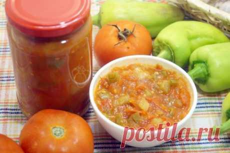 Рецепт дня — домашний кетчуп «Лечо»
