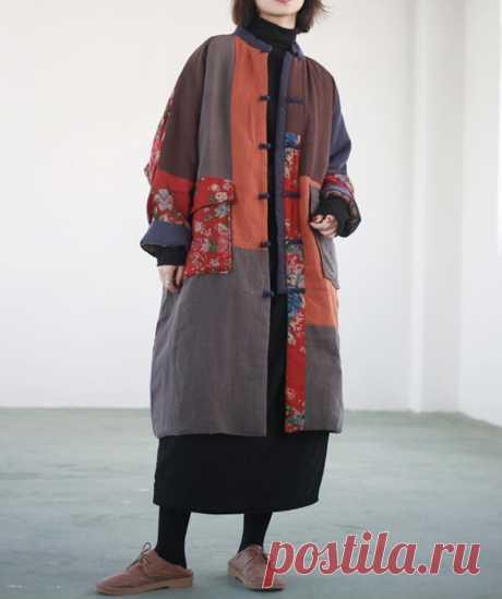 Women Winter oversized coat Women robe midi padded coat   Etsy