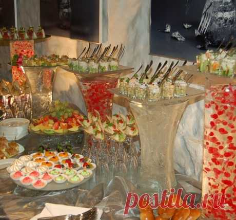 We prepare for New Year. Recipes for a buffet reception