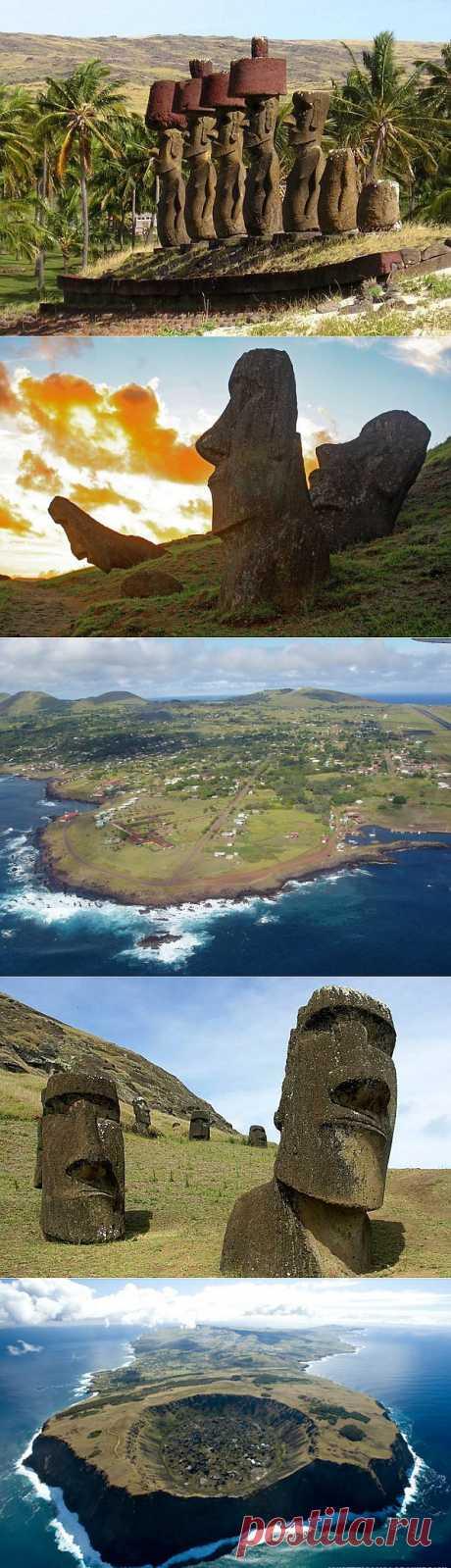 (+1) - Загадка без ответа: остров Пасхи, Чили | ТУРИЗМ И ОТДЫХ