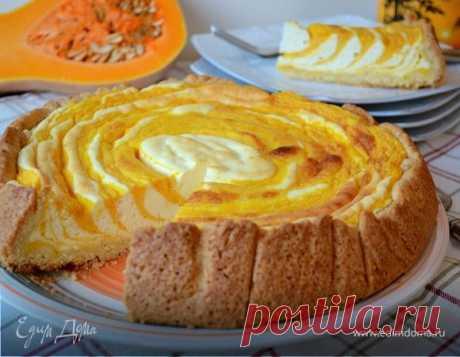 Пирог-суфле «Полосатая тыква»                     Этот пирог не просто вкусный, он ОЧЕНЬ ВКУСНЫЙ!!! Честно говоря, увидев его, сразу знала, что буду печь... Но, вот никак не ожидала, что его вкус нас так порадует! Да, и готовим с …