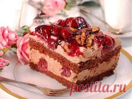 Новогодний торт «Сказка»
