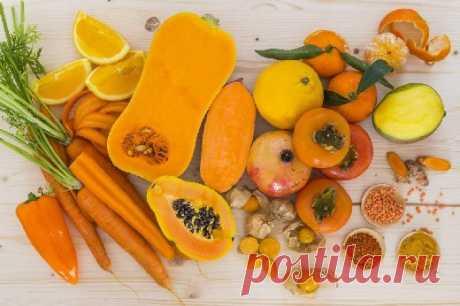 Названы главные полезные свойства оранжевых овощей и фруктов - Медицина 2.0