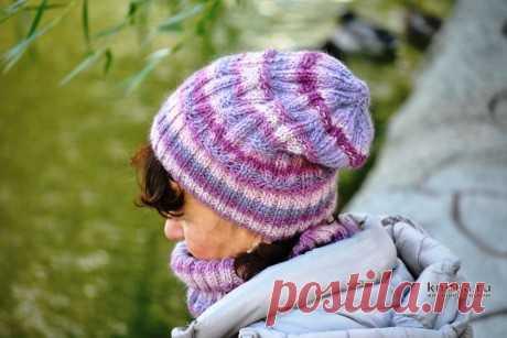 Комплект Первые морозы: шапка + снуд + митенки, Вязание для женщин