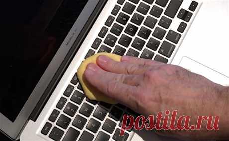 Как сделать «лизуна» для чистки клавиатуры и другой электроники