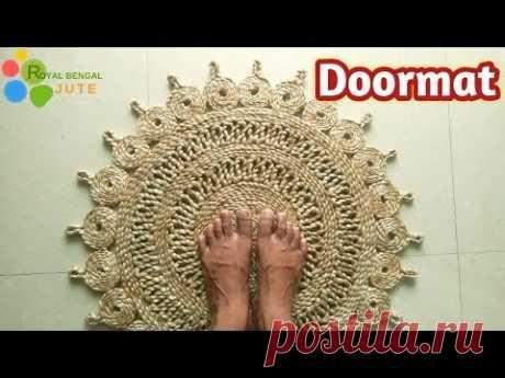 DIY Jute Door Mat Handmade|| Make at home it's easy|| #Jute DIY,Rug