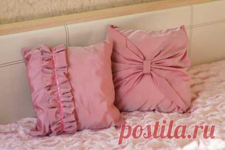 Самые разные и красивые идеи оформления подушек — Сделай сам, идеи для творчества - DIY Ideas
