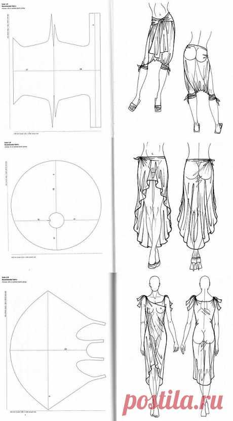 Как сшить одежду без ниток? Легко   Мастер-классы в картинках