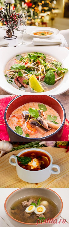 Топ-5 похмельных супов на 1 января