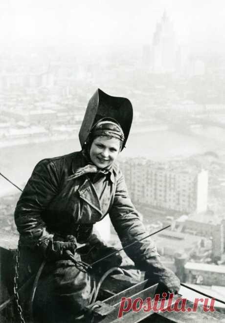 Работающие женщины Советского Союза на фотографиях | Калейдоскоп новостей | Яндекс Дзен