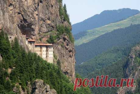 Монастырь Сумела Панагия, Турция - Путешествуем вместе