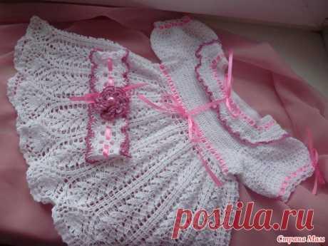 Крестильное платье.