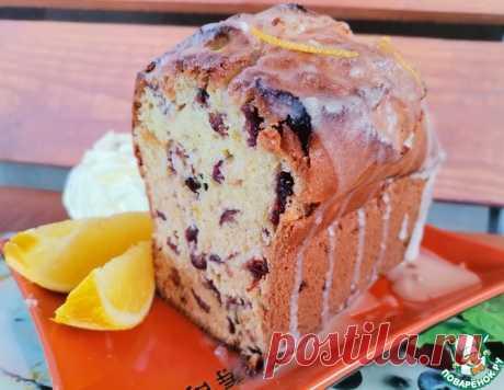 Кекс с клюквой и апельсином – кулинарный рецепт