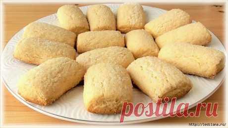 Быстрое печенье на кефире. Очень просто и вкусно