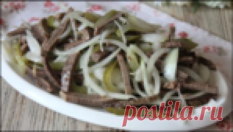 """Салат """"Шахтерский"""": брутальный мясной салат, который я обязательно буду готовить на 23 февраля!"""