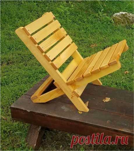 Складной стул из бруса своими руками Приветствую всех самоделкиных и тех, кто просто заглянул в гости к Самоделкину. Наверняка всем не раз приходилось видеть, а может даже и материть различные варианты складных стульев из различных материалов. И это не удивительно, ведь такая мебель очень удобная и практичная, её можно использовать