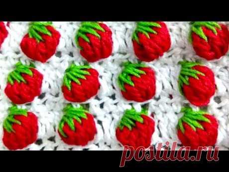 Strawberry 🍓🍓🍓 stitch crochet