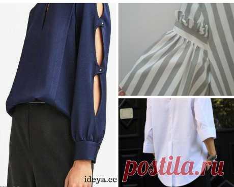 d17d1a5ab96 Необычные детали блузок Много всякого разного блузочного изюма для тех