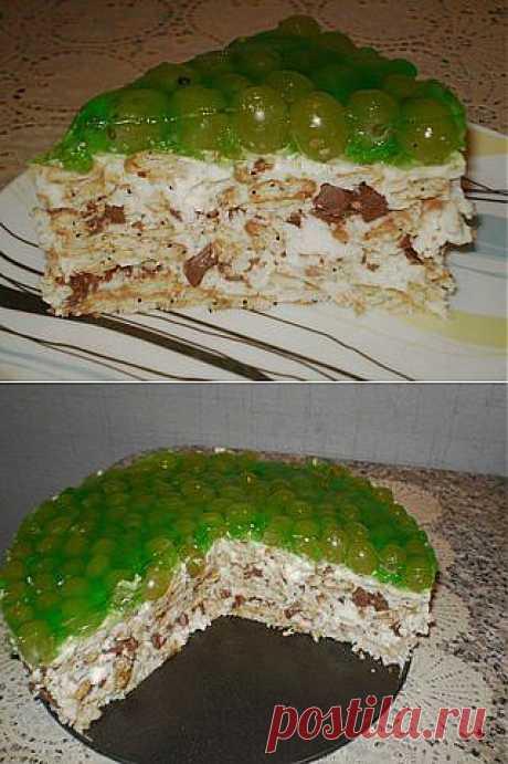 Вкусный торт без выпечки | Готовим вместе