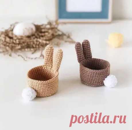 Пасхальные корзиночки для яиц своими руками - Уголок хозяйки - медиаплатформа МирТесен