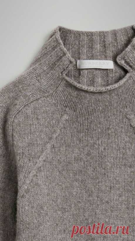 Горловина от Burberry Модная одежда и дизайн интерьера своими руками