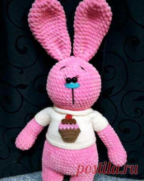 PDF Зефирная Зайка. Бесплатный мастер-класс, схема и описание для вязания игрушки амигуруми крючком. Вяжем плюшевого зайца своими руками! FREE amigurumi pattern. #амигуруми #amigurumi #схема #описание #мк #pattern #вязание #crochet #knitting #toy #handmade #поделки #pdf #рукоделие #заяц #зайка #зайчонок #зайчик #rabbit #hare #кролик #плюшевый #plush