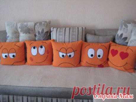 Интересные варианты подушечного декора для детей и не только. - Клуб рукоделия - Страна Мам