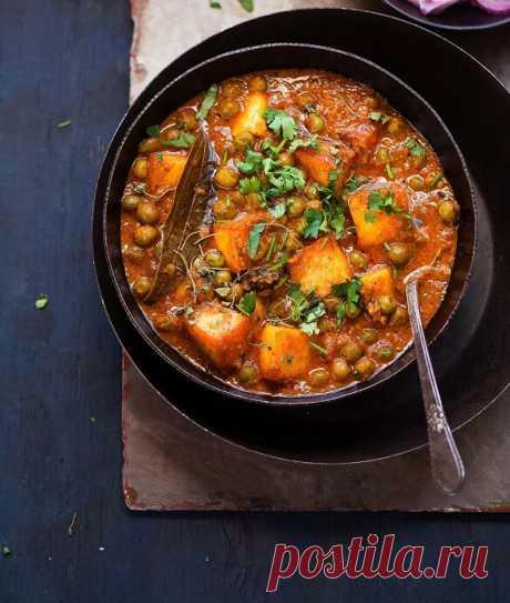 Сабджи: овощное рагу по-индийски