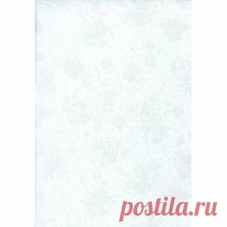 Флизелиновые обои Обои компакт-винил Цвет полян белые 1,06 м, Обои, Флизелиновые обои, Отделка стен в Ольгинской