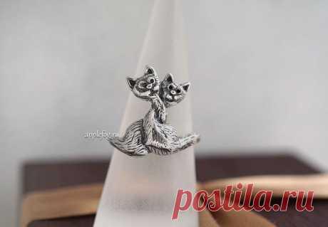 Кольцо С любимыми не расставайтесь - отличный романтический подарок!