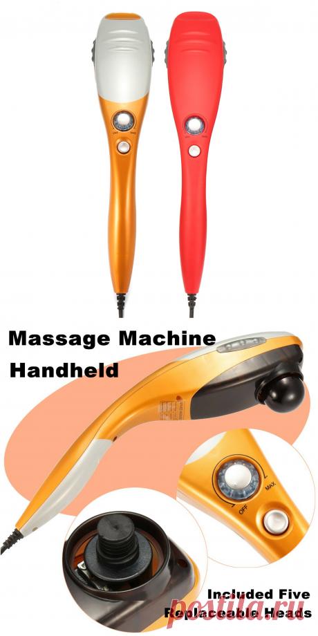 electric handheld body massager at Banggood