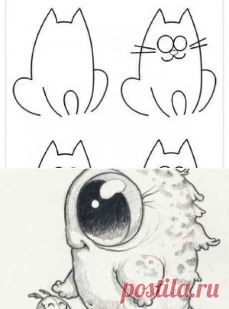BipBap.ru 🔥 прикольные картинки и юмор Картинки для срисовки