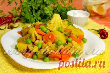 Не знаете, чем вкусненьким побаловать семью во время поста? Тогда обязательно посмотрите наш фото рецепт пикантной постной цветной капусты!