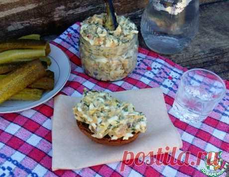 """Бутербродная масса """"Бомба"""" – кулинарный рецепт"""
