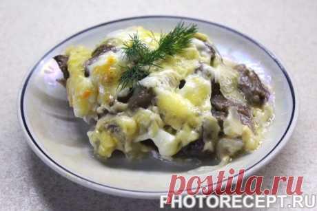 Мясо по-французски - знакомое и любимое блюдо