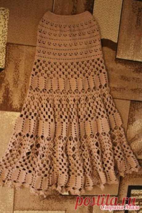 Длинная юбка на осень. Связала юбку для клиентки. Девочки нужна ваша оценка работы! Перевязывала несколько раз. Не очень много юбочки получилось внизу??? при необходимости могу поделиться схемками Вот схемки