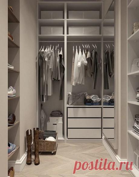 Сделать гардеробную просто, главное знать необходимые секреты | Интерьер-школа Иоланты Федотовой | Яндекс Дзен