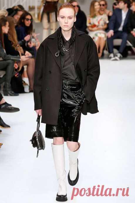 Femme fatale: с чем носить кожаную юбку-карандаш зимой | Офигенная