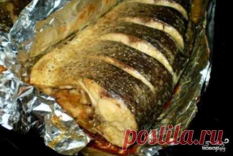 Толстолобик в духовке в фольге - пошаговый рецепт с фото на Повар.ру