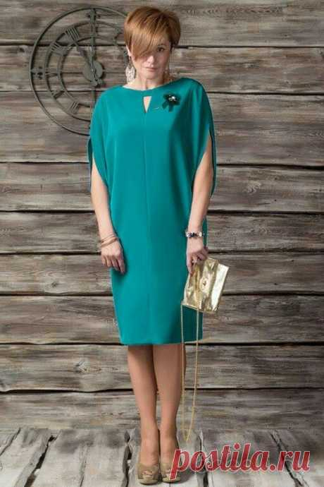 Как сшить платье: модель интересная, а выкройка проще некуда | модница | Яндекс Дзен
