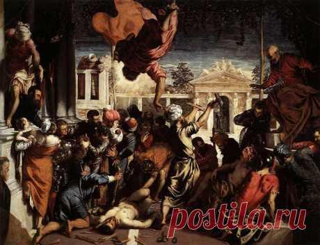 «Чудом о рабе»  Тинторетто  1548 г.  Венеция